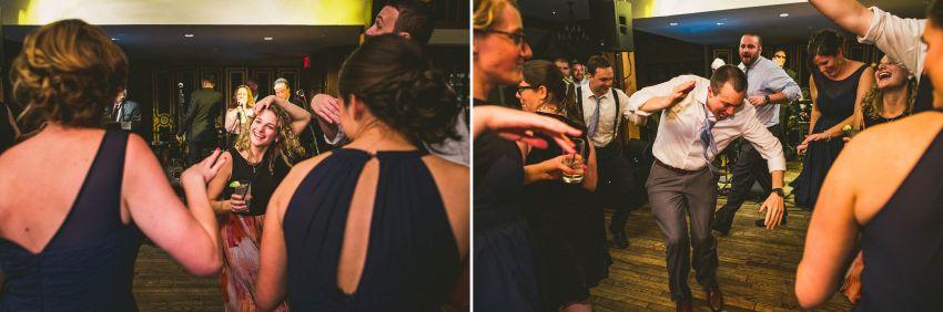 Bedford Village Inn wedding reception