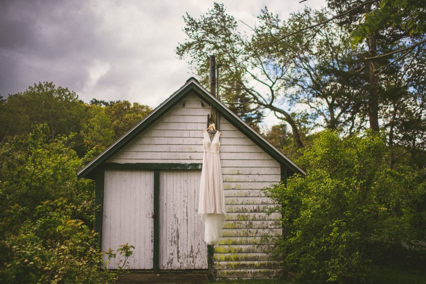 South shore wedding gown