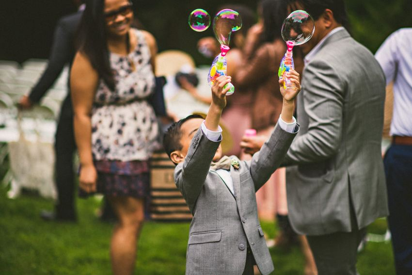 Brooksby Farm wedding ringbearer