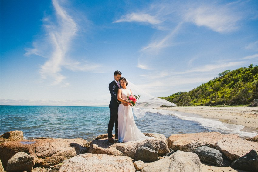 Beautiful south shore White Cliffs Country Club wedding photography