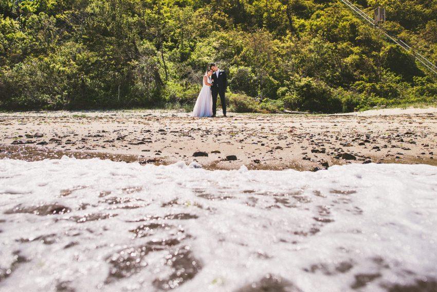 Whitecliffs Country Club wedding portrait