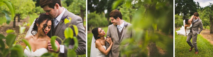 Brooksby Farm wedding portraits