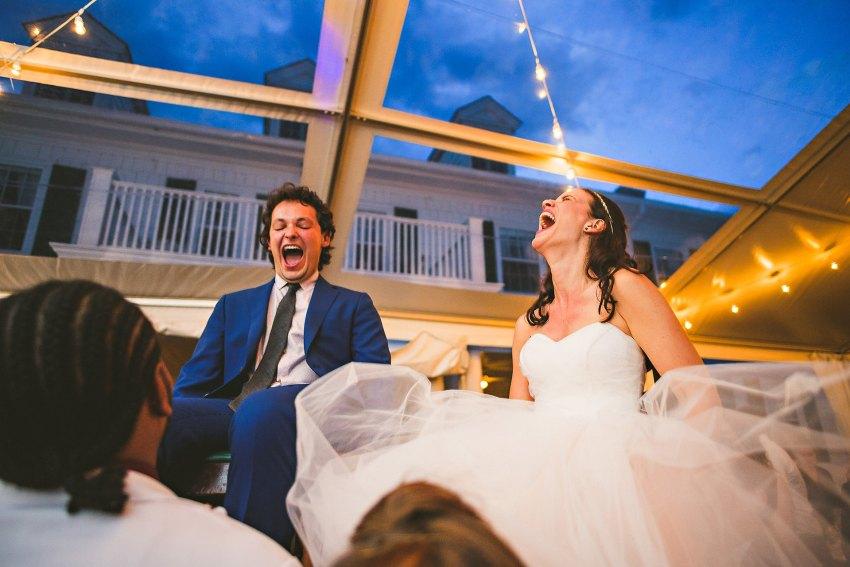 Berkshires Jewish wedding hora
