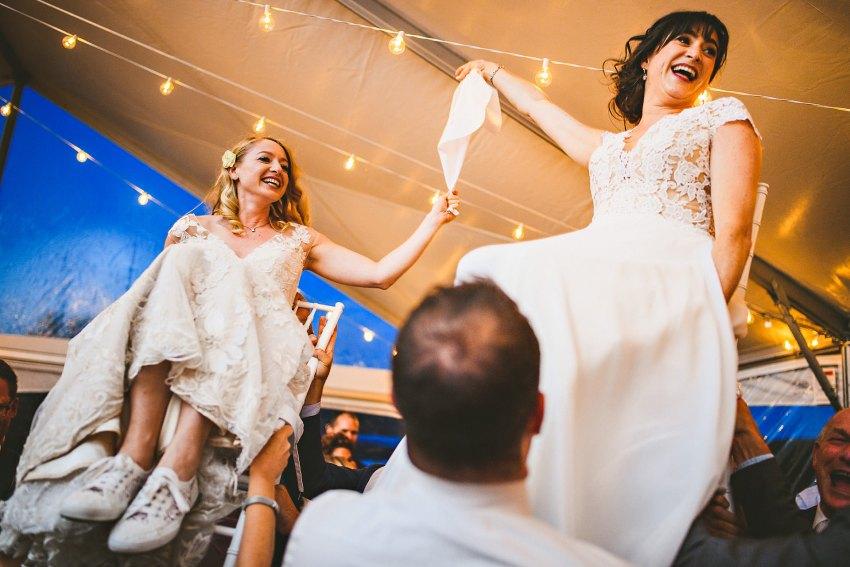 Same sex wedding hora in Maine