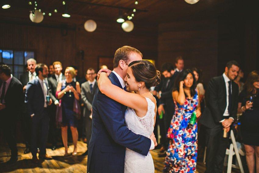 Historic New England Codman Estate wedding first dance