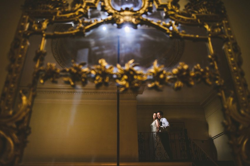 Dramatic Hampshire House wedding photography