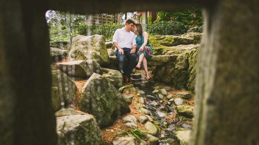 deCordova Sculpture Park engagement photography