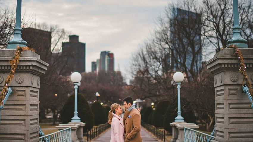 Boston wedding photo