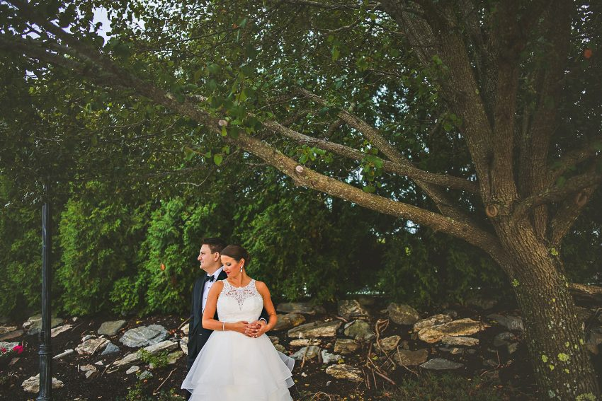 Moody Portsmouth wedding portrait