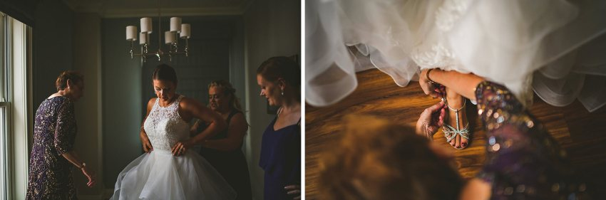 Portsmouth wedding bridal preparation