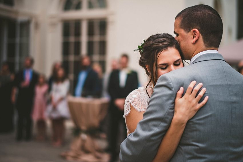 Intimate Wadsworth Mansion first dance
