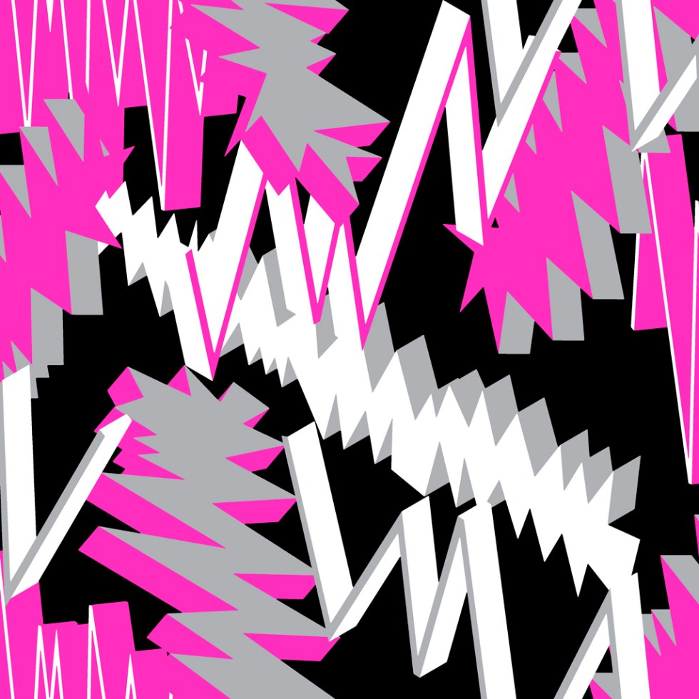 Pattern and print design 3DLightning (aram1325) by Alex Russell