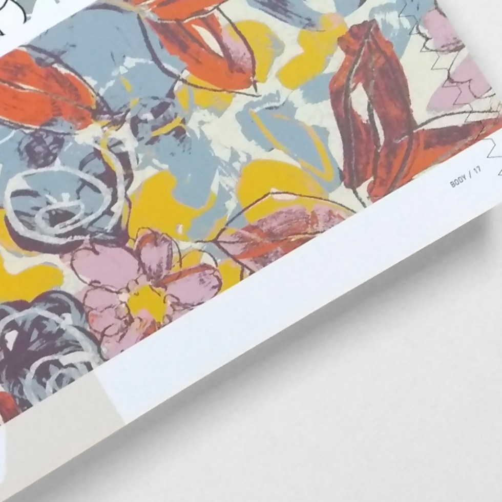 """by Alex Russell featured in """"Textile Designers At The Cutting Edge"""" by Bradley Quinn."""