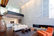 New York Triplex Showcasing an Imposing Double-Height Living Zone