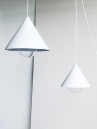 HANDMADE CONE LIGHTS BY LONDON'S STUDIO VIT 2