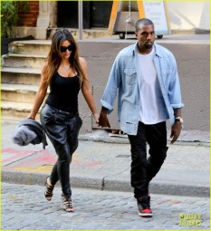 Kim Kardashian and Kanye West show off their love in New York City
