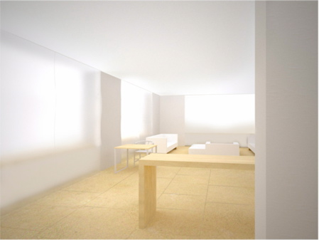 KW SOHO Apartment 1 Hall To Living