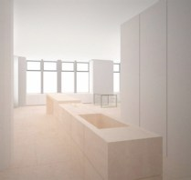 KW SOHO Apartment 11 Kitchen (Curtains Up)