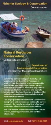 Natural Resources Conservation Flyer
