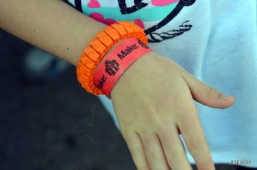 The kids got 3D printed bracelets