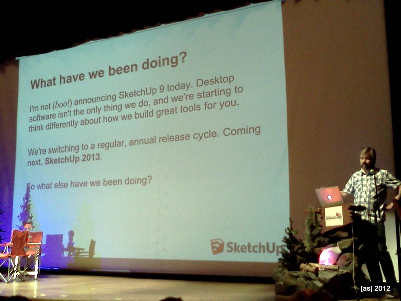 """The next SketchUp version will be """"2013"""""""