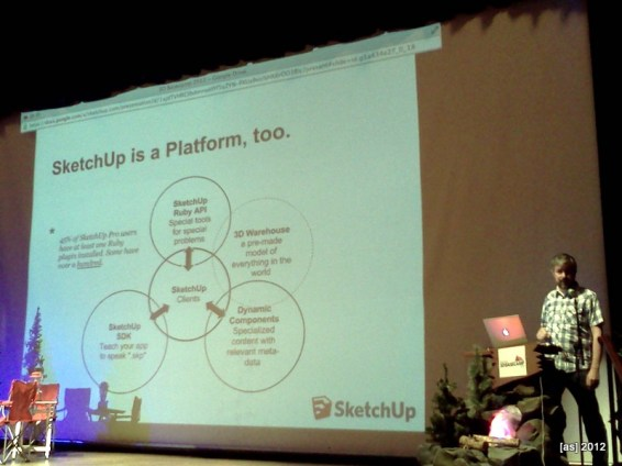 SketchUp as a platform