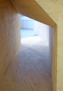 "Detail of the ""four corners"" CLT exhibit"