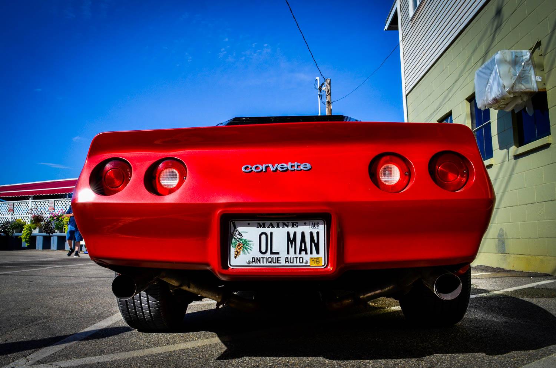 The ol' man's car