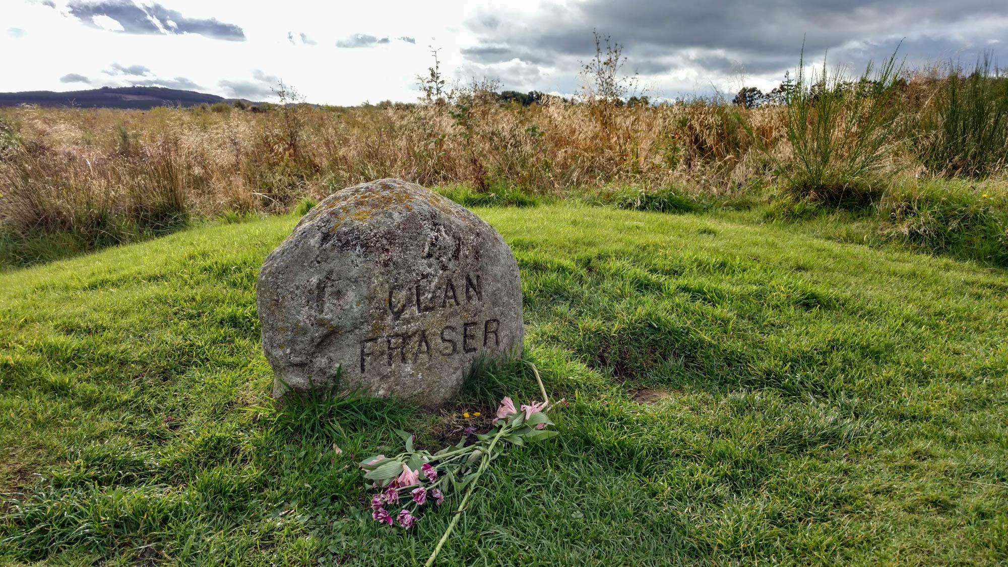 Fraser grave at Culloden