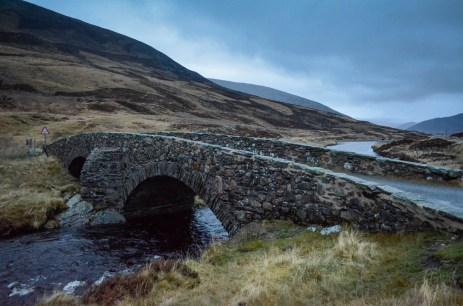 Bridge in the highlands