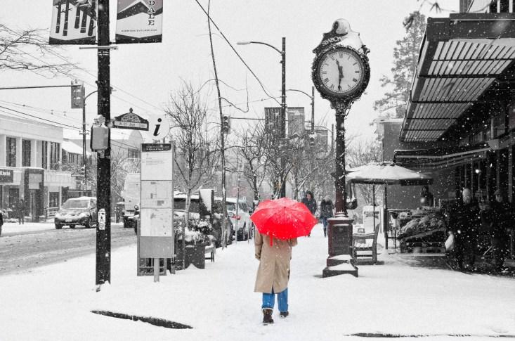Winter on 41st