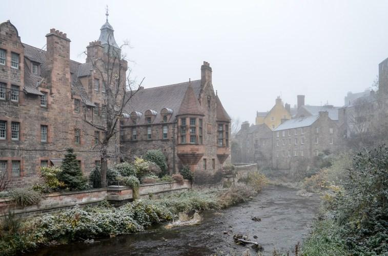 Dean Village in Winter