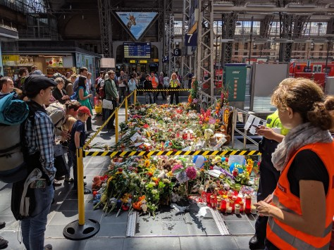 Memorial at Frankfurt Hauptbahnhof