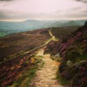 Walking down from Winhill Pike, taken using iPhone camera