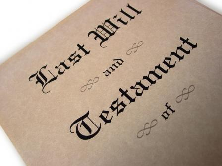 Last will and testament - lolz