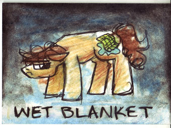 Wet Blanket Pony