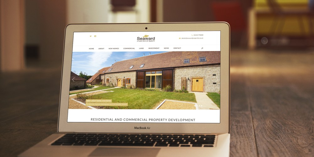 Seaward Homes - Property Website Design
