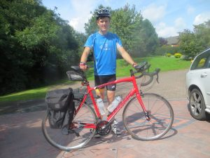 Chester to Chamonix: one teenager, one week, one bike
