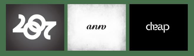 Логотипы-амбиграммы