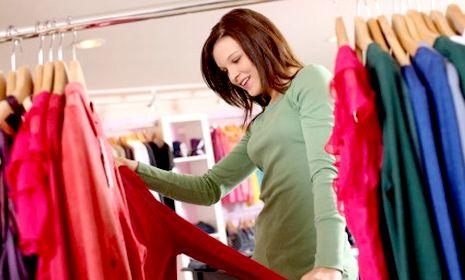 шоппинг платья картинка