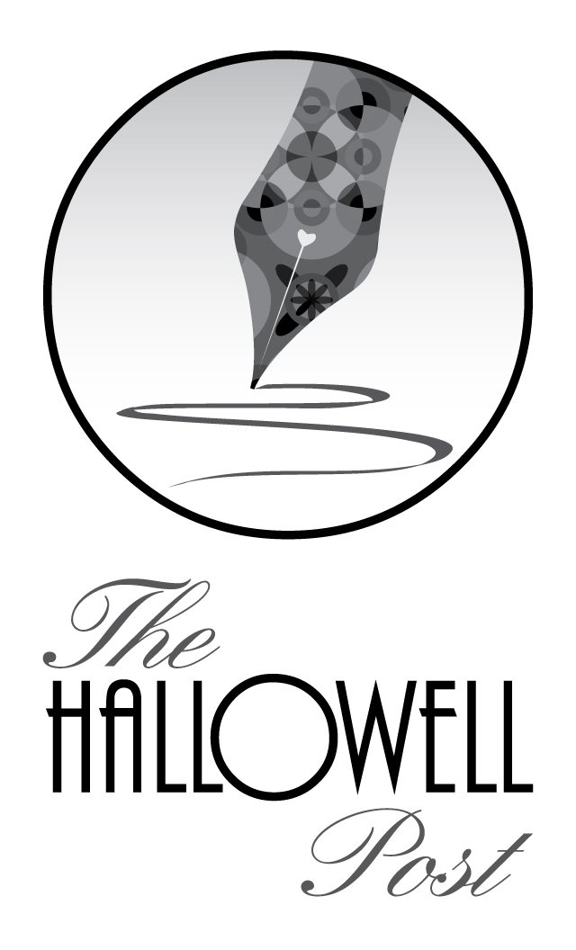 the hallowell post logo