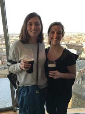 Guinness Storehouse Gravity Bar!