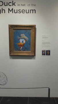 Never thought I'd see more than 1 museum with historical paintings recreated as ducks...