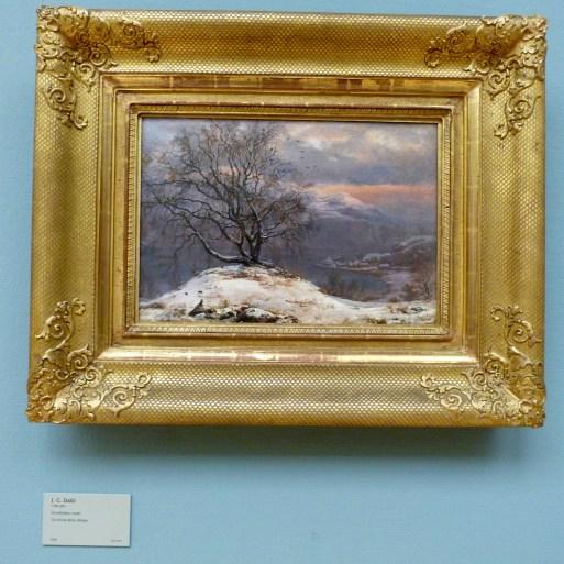 The Slinde Birch, Winter by J.C. Dahl