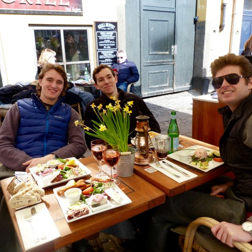 Lunch on Nyhavn Street!
