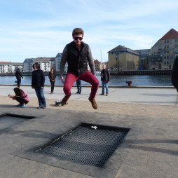 Trampolines by Nyhavn