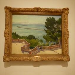 The Terrace, L'Estaque by Albert Marquet
