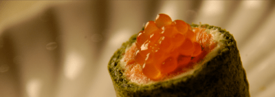 Salmon roulade banner
