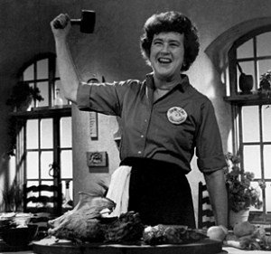 Julia Child: how to make your T square work for you