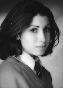 Amy Winehouse, young